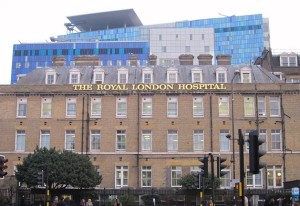 The Royal London Hospital today